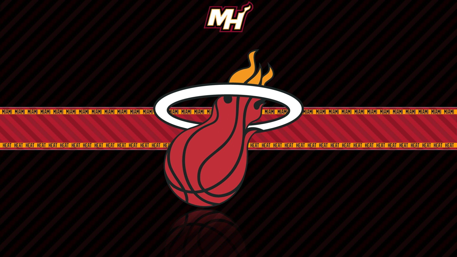 Miami Heat HD Wallpaper | Background Image | 1920x1080 | ID:410460 - Wallpaper Abyss