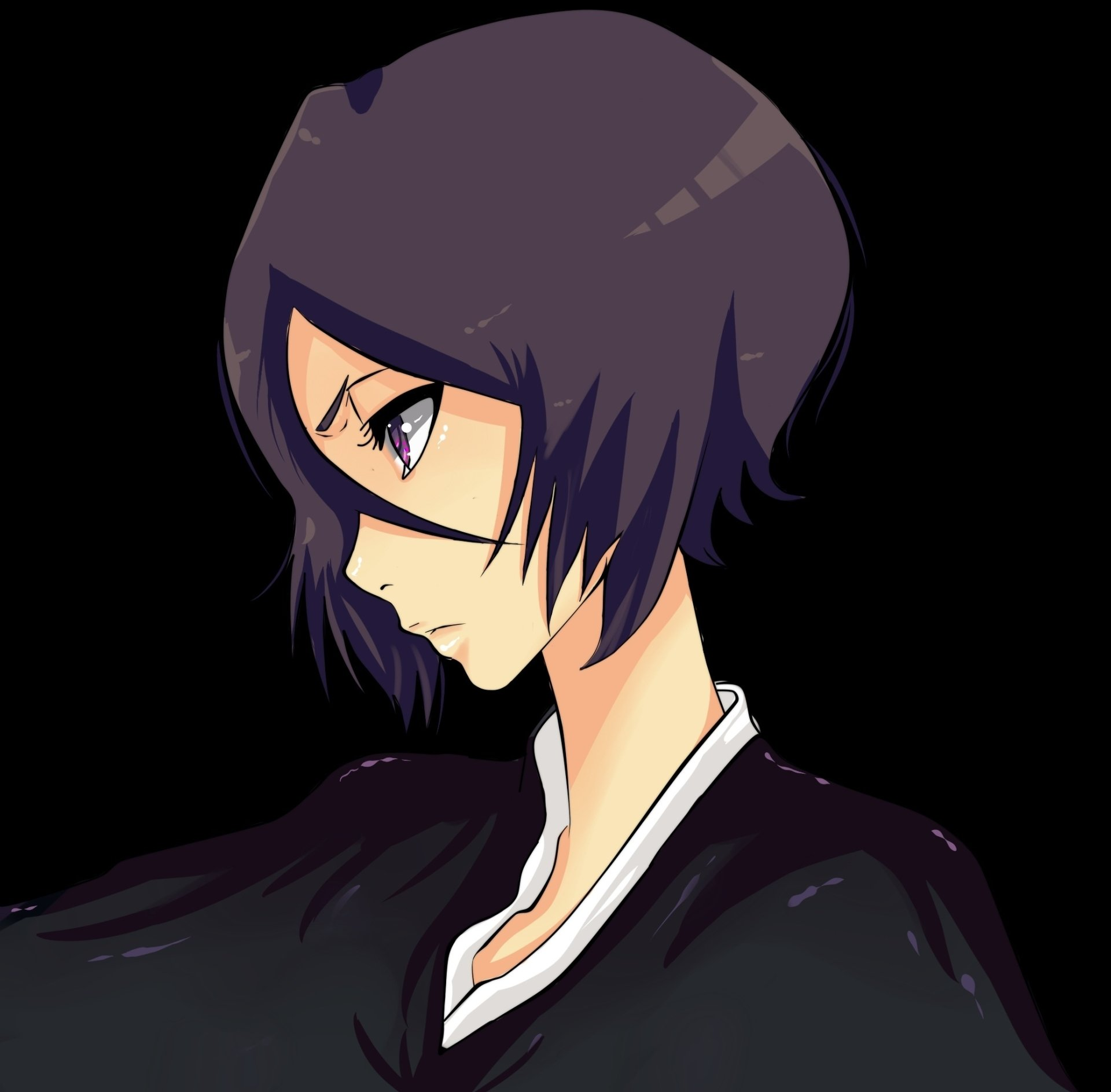 Anime - Bleach  Rukia Kuchiki Wallpaper