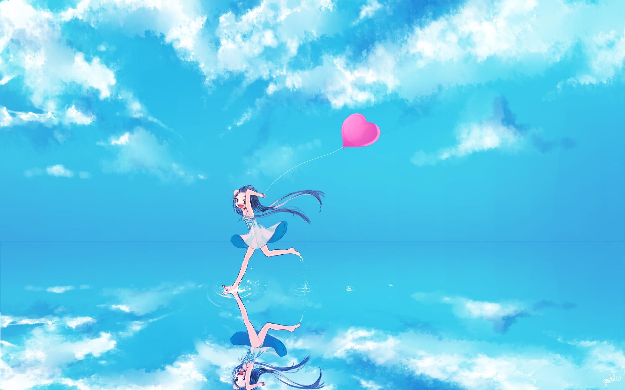 Vocaloid full hd fond d 39 cran and arri re plan 2000x1250 for Fond ecran animation