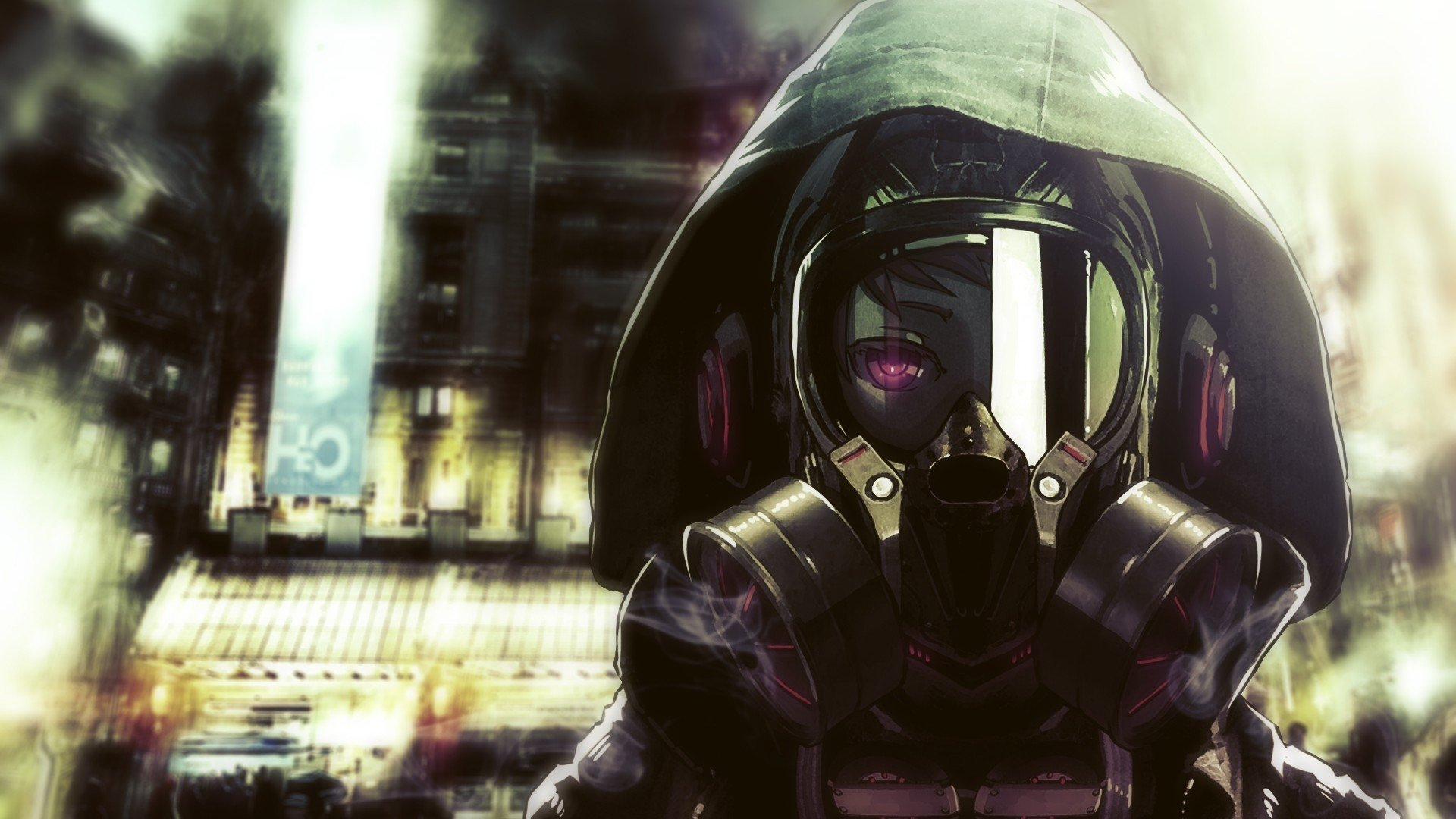 Sci Fi Fuel : Gas mask full hd wallpaper and background image