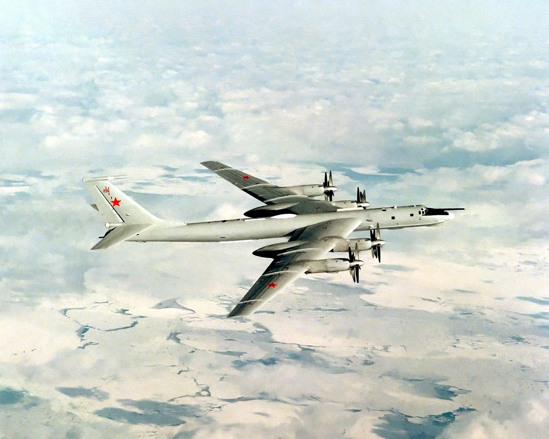 12 Tupolev Tu-95 HD Wallpapers | Backgrounds - Wallpaper Abyss