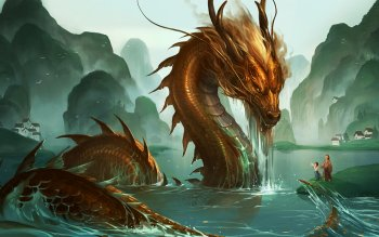 Fantasy - Dragon Wallpapers and Backgrounds ID : 413658