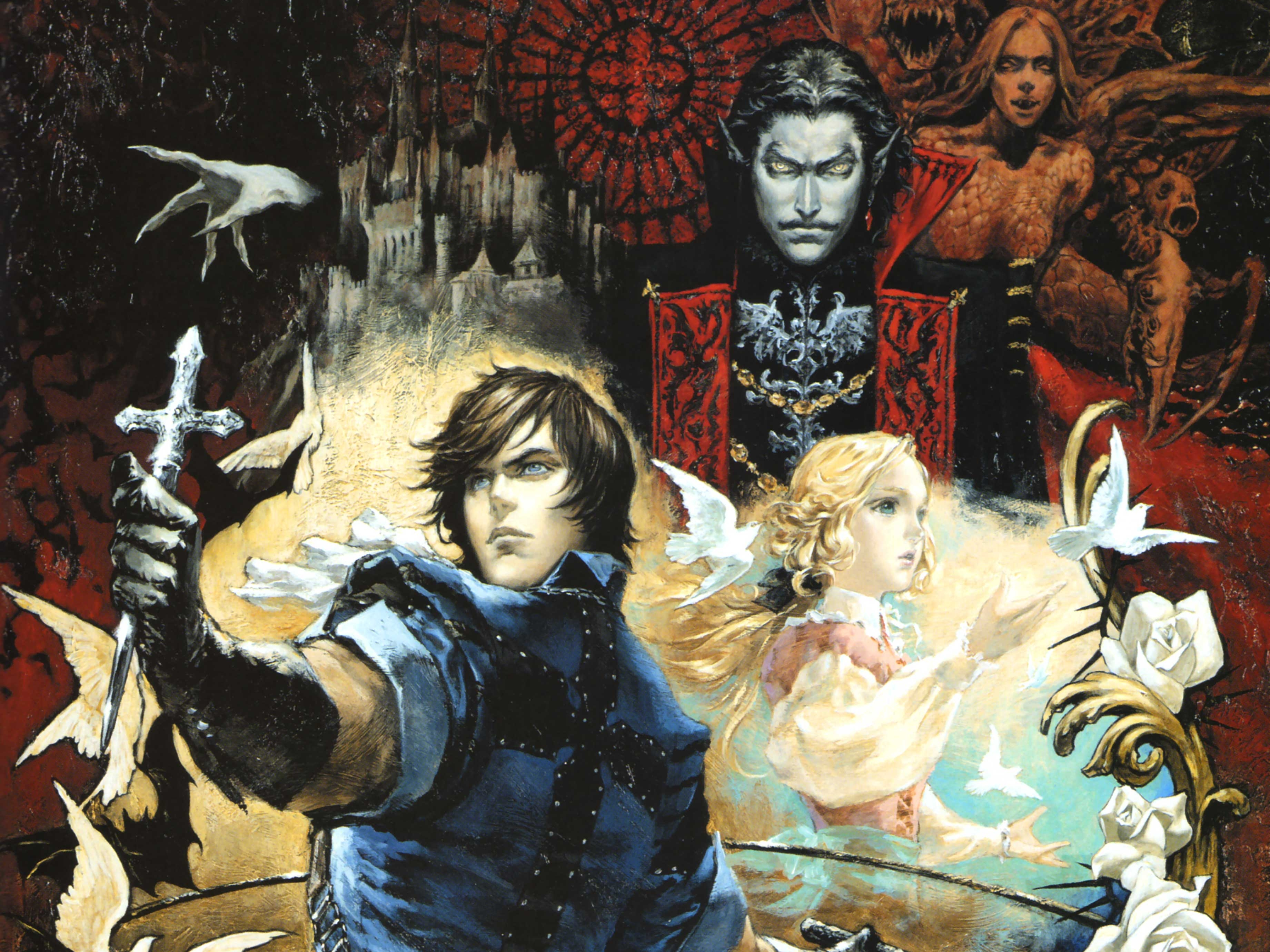 Castlevania The Dracula X Chronicles Full HD Wallpaper And