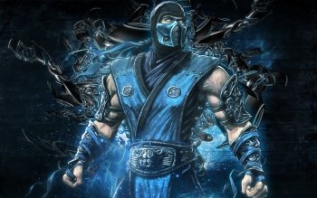 Scorpion Sub Zero HD Wallpaper