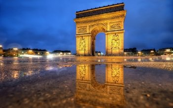Man Made - Arc De Triomphe Wallpapers and Backgrounds ID : 414938