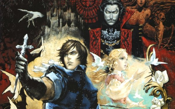 Video Game Castlevania: The Dracula X Chronicles Castlevania HD Wallpaper | Background Image