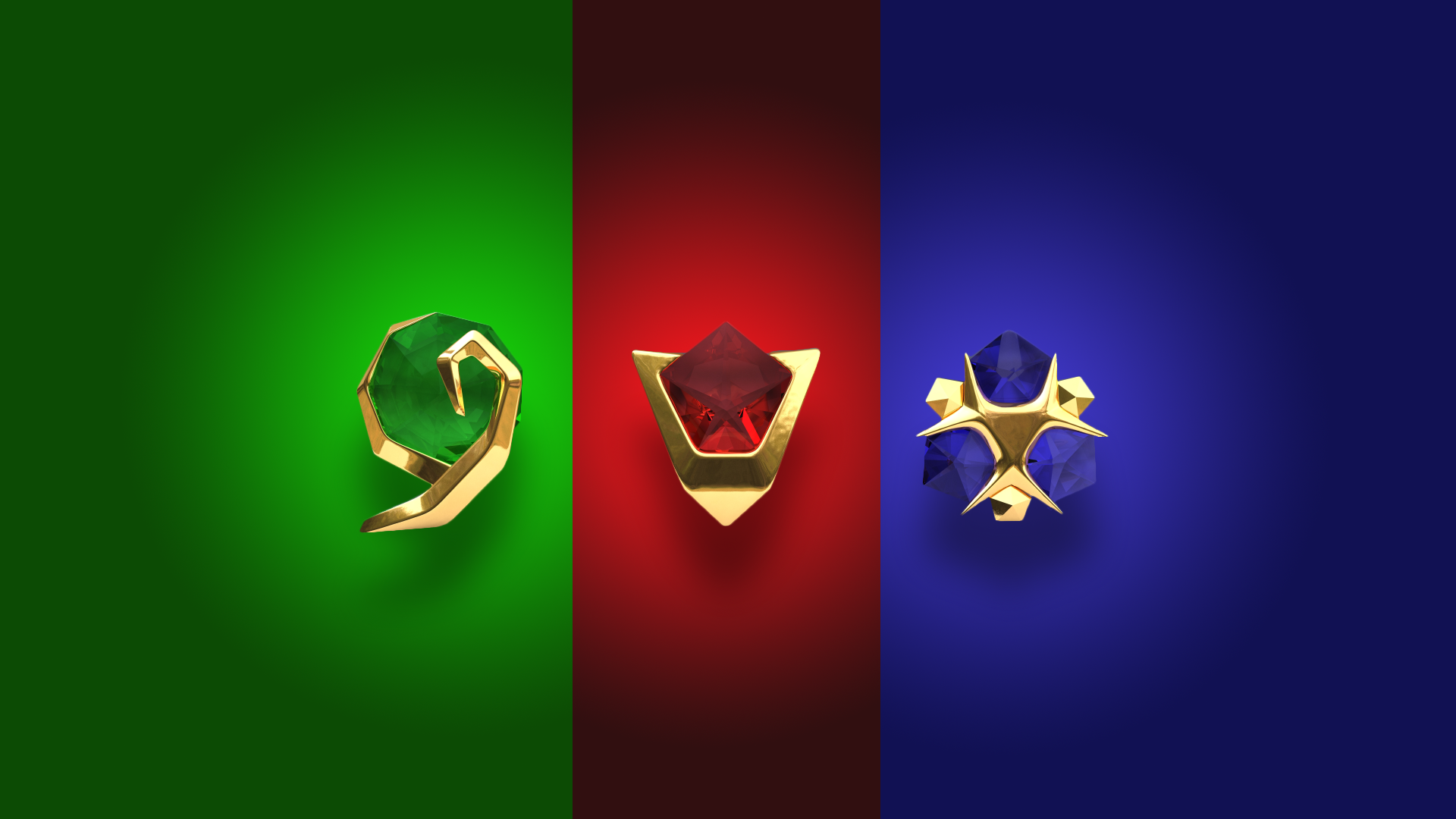 The legend of zelda triforce gif