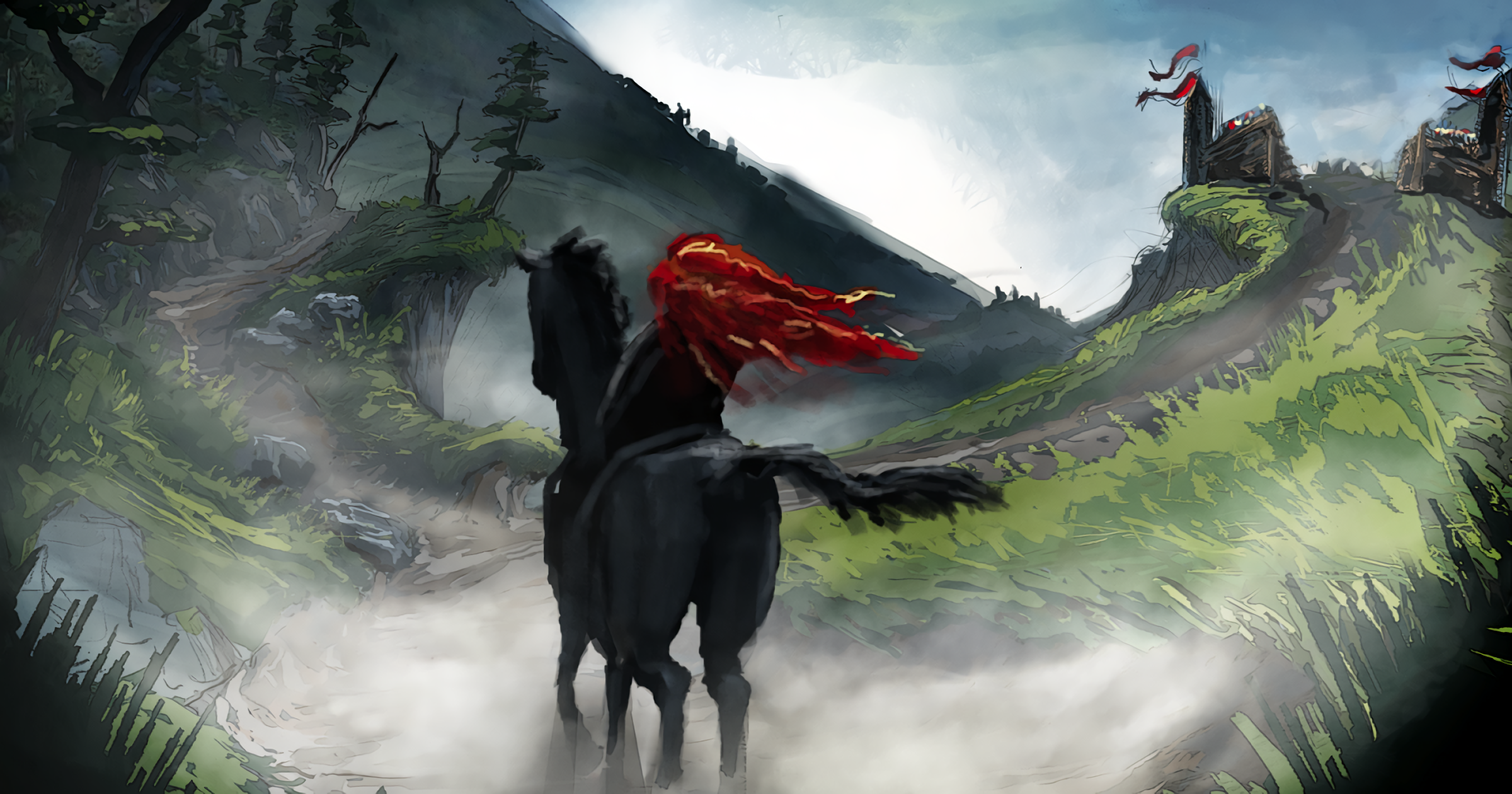 brave hd wallpaper | background image | 2400x1260 | id:415918