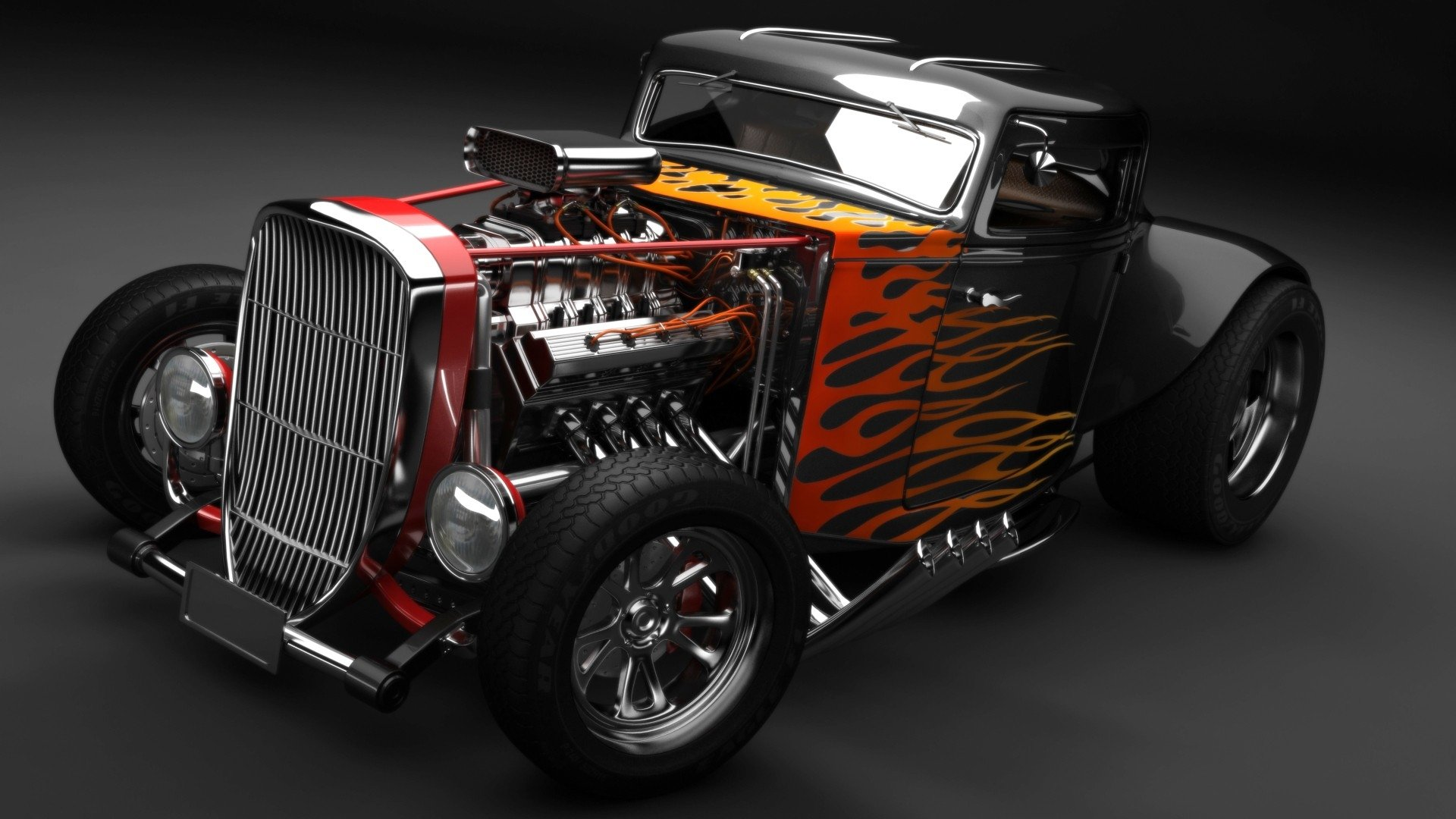 581 Hot Rod HD Wallpapers | Background Images - Wallpaper Abyss