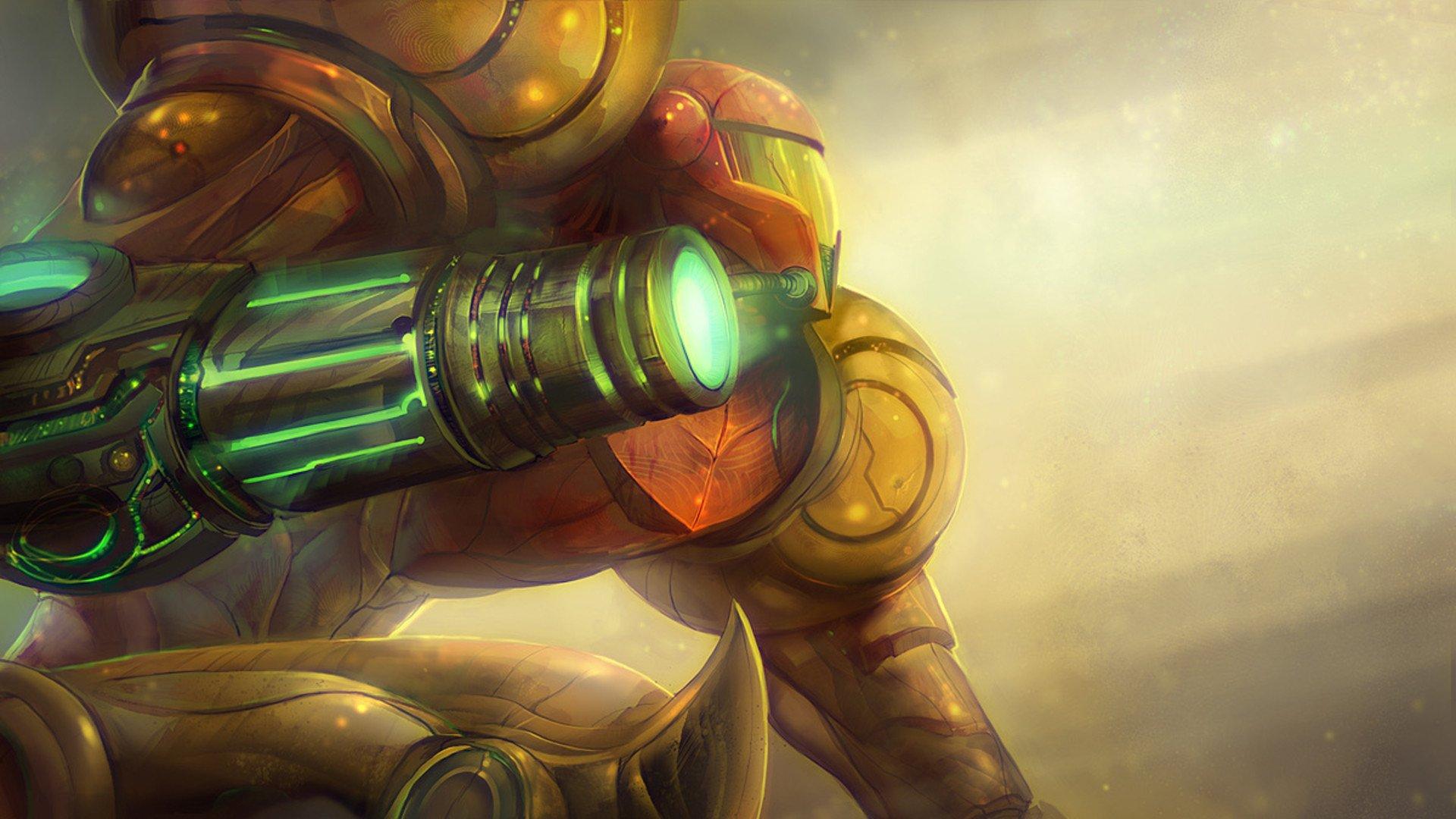 Video Game - Metroid  Samus Aran Metriod Wallpaper