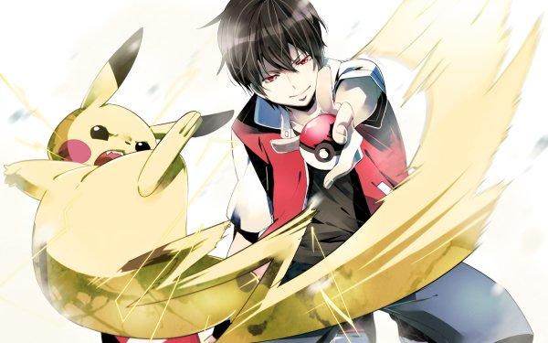 Videojuego Pokémon: Rojo y Azul Pokémon Pikachu Red Fondo de pantalla HD   Fondo de Escritorio