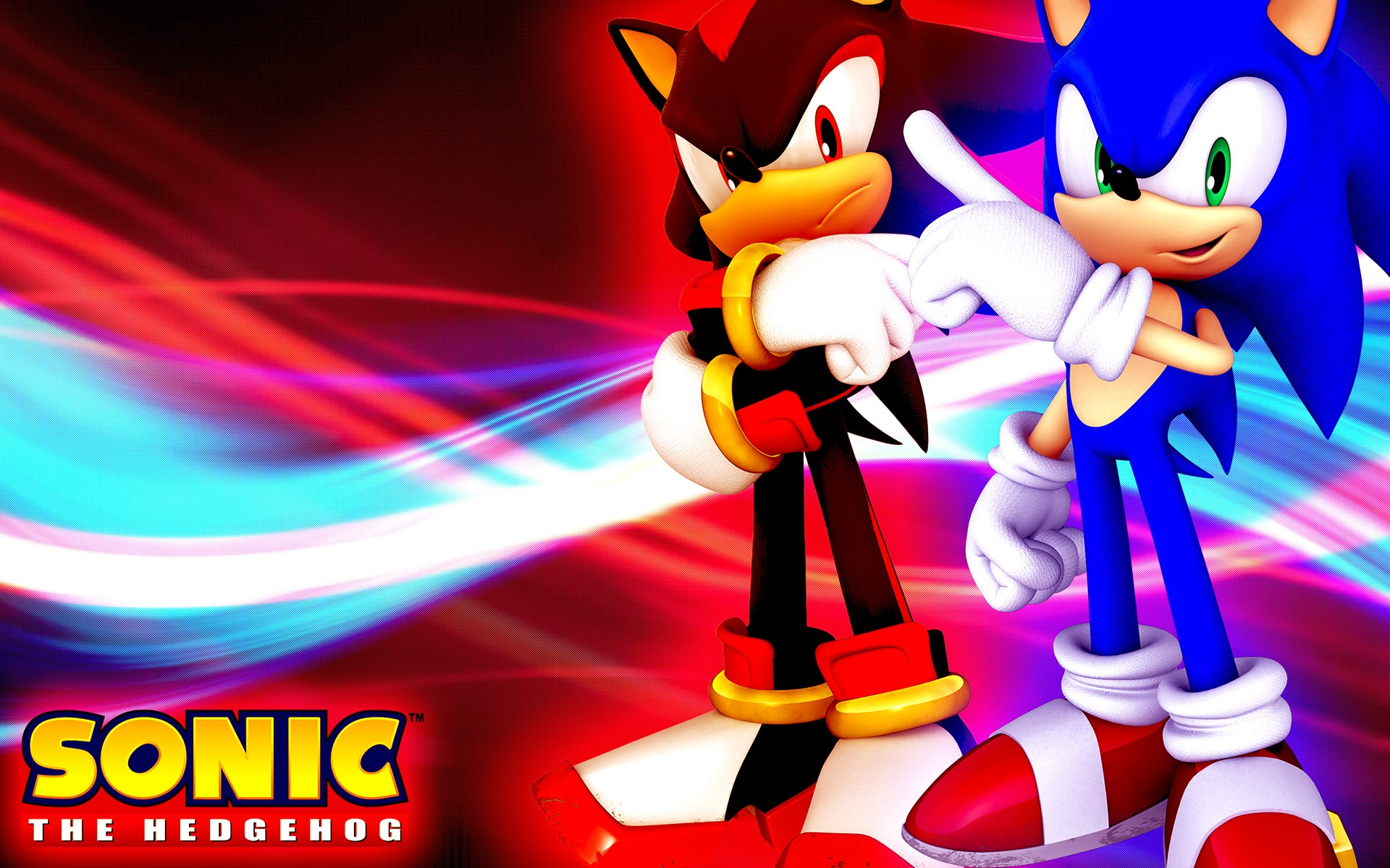 Sonic the hedgehog full hd wallpaper and background image - Sonic et shadow ...