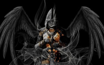 Dark - Angel Warrior Wallpapers and Backgrounds ID : 416742