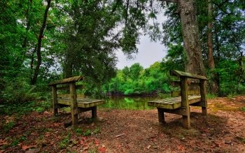 Man Made - Bench Wallpapers and Backgrounds ID : 416919