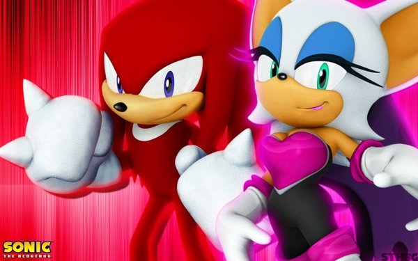 Video Game Sonic the Hedgehog (2006) Sonic Knuckles the Echidna Rouge the Bat HD Wallpaper | Background Image