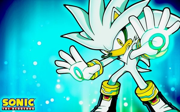 Video Game Sonic the Hedgehog (2006) Sonic Silver the Hedgehog HD Wallpaper | Background Image