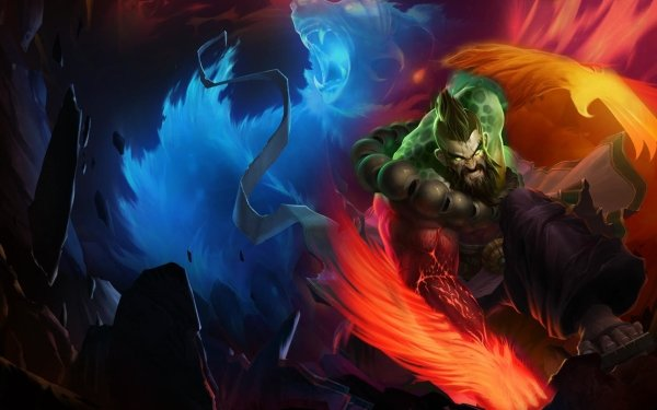 Videojuego League Of Legends Udyr Fondo de pantalla HD | Fondo de Escritorio