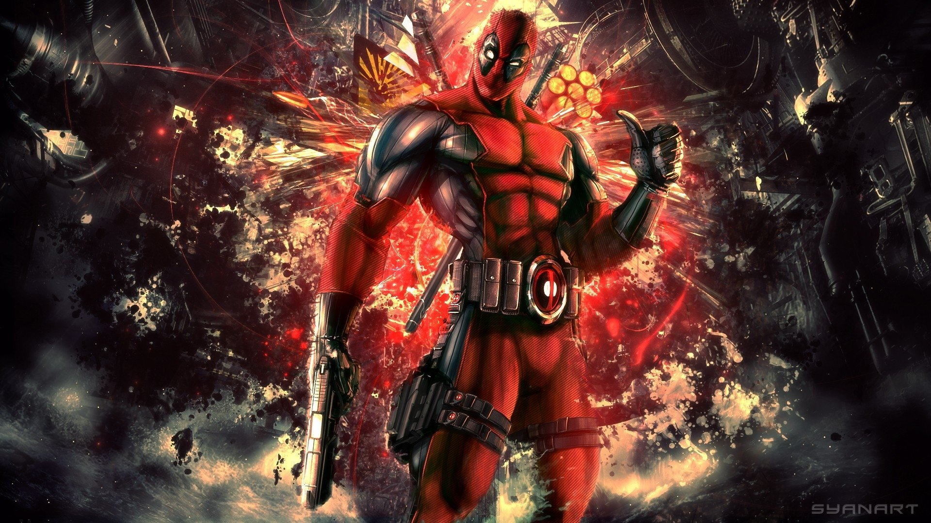 738 Deadpool HD Wallpapers Backgrounds Wallpaper Abyss
