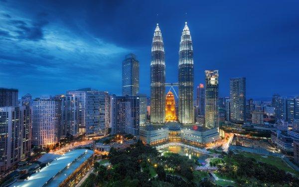 Man Made Kuala Lumpur Cities Malaysia Petronas Towers HD Wallpaper | Background Image