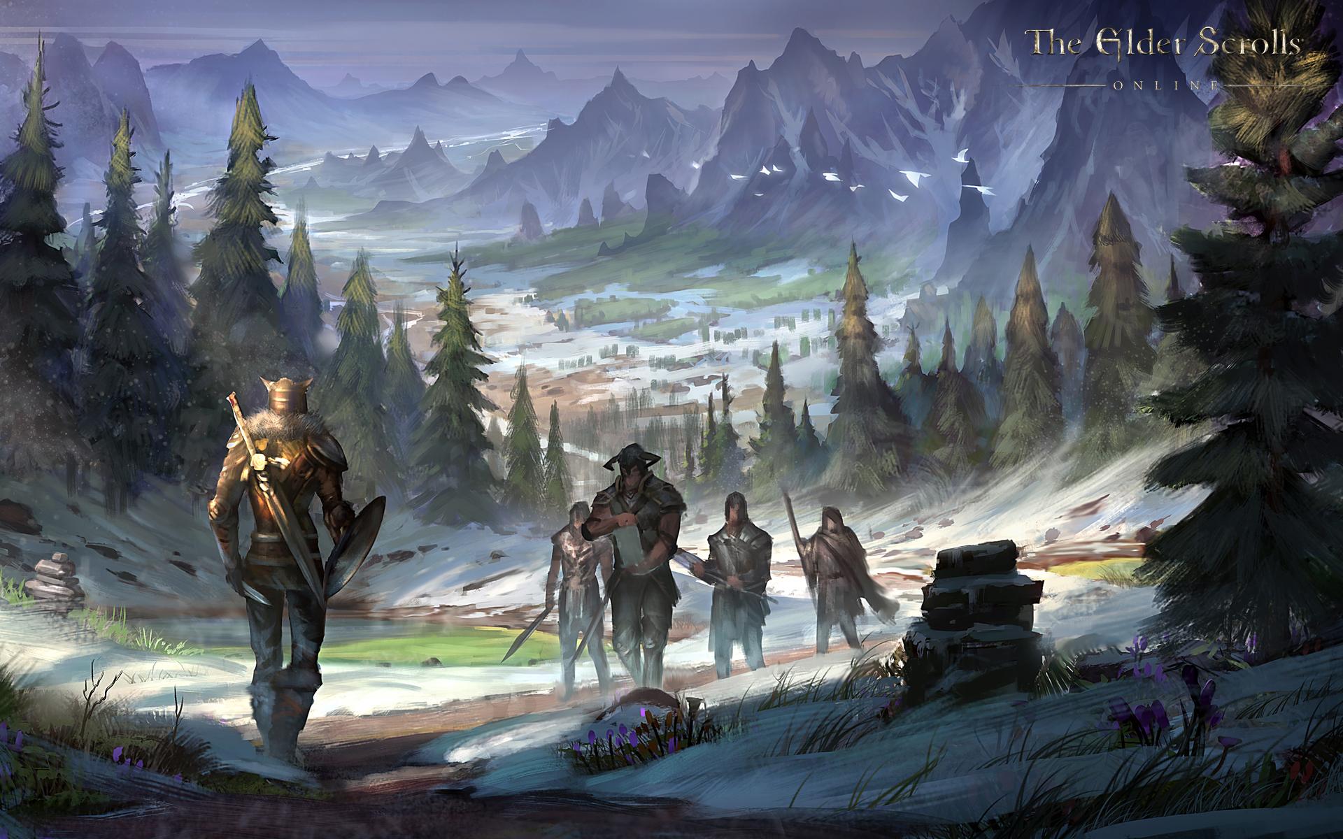 The Elder Scrolls Online HD Wallpaper