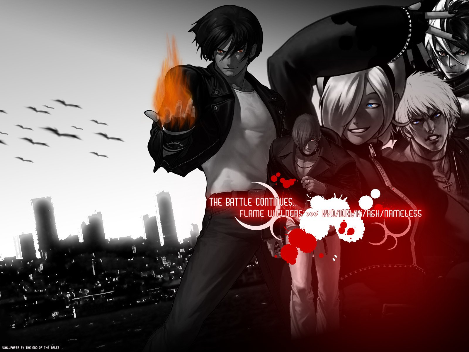 The King Of Fighters Flame Wielders Fond Décran And Arrière Plan