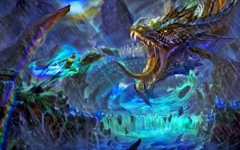 Fantasy - Dragon Wallpapers and Backgrounds ID : 418036