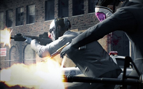 Video Game Payday 2 Payday Chains Houston HD Wallpaper | Background Image
