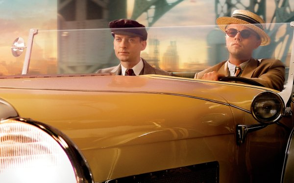 Movie The Great Gatsby Leonardo Dicaprio Tobey Maguire HD Wallpaper | Background Image