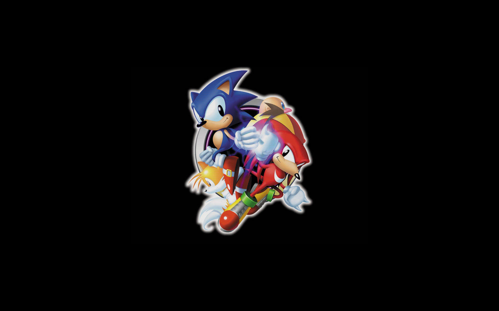 sonic amp knuckles wallpaper and background image