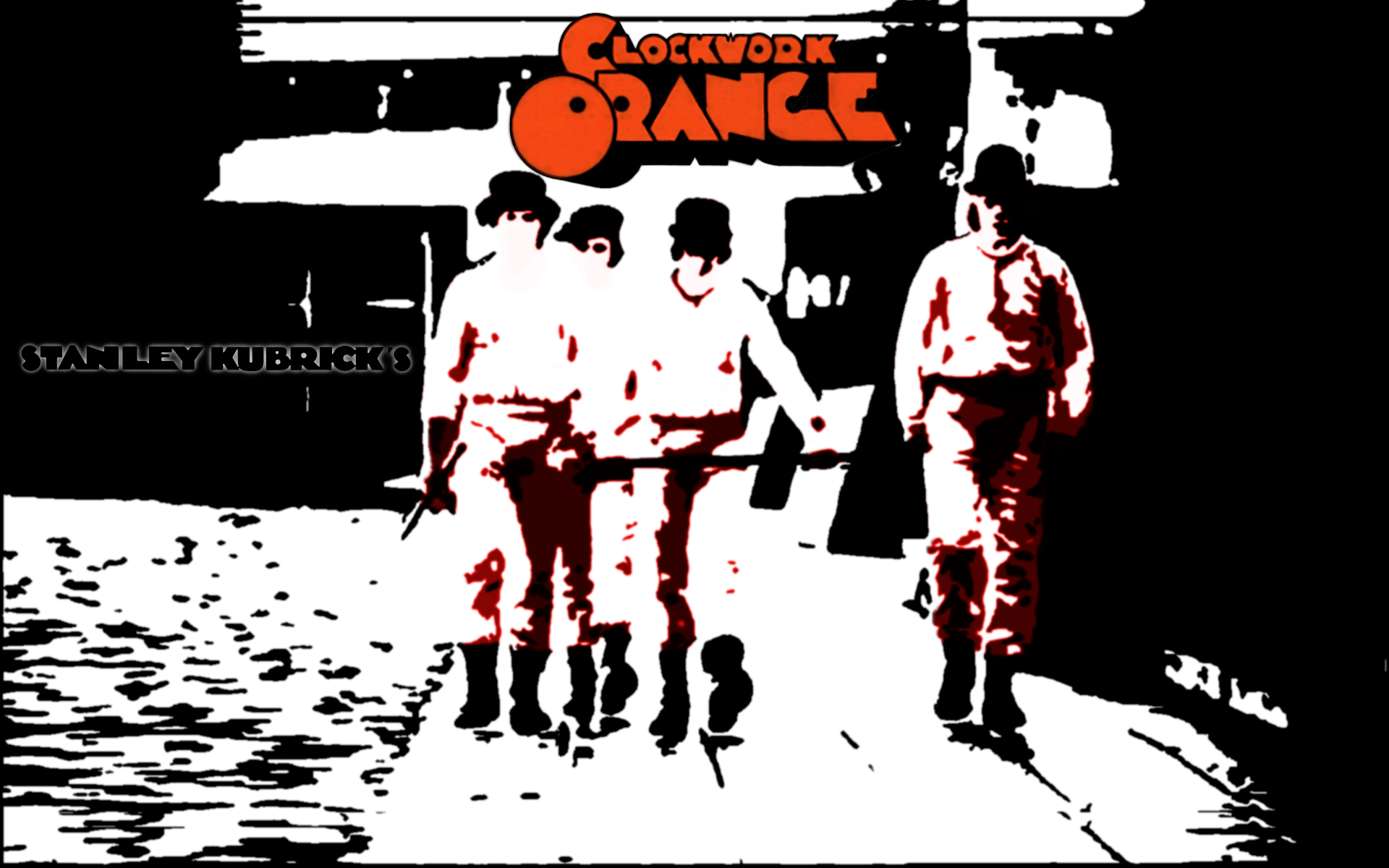 A Clockwork Orange Full HD Wallpaper and Background ... A Clockwork Orange Wallpaper