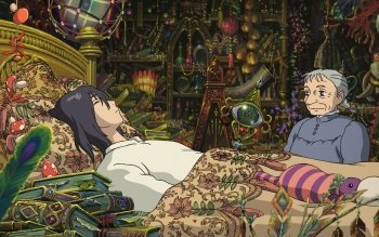 Movie - Howl's Moving Castle Wallpapers and Backgrounds ID : 420260