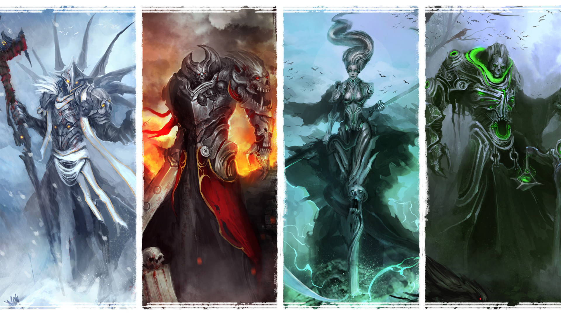 Four Horsemen Of The Apocalypse Hd Wallpaper Background Image