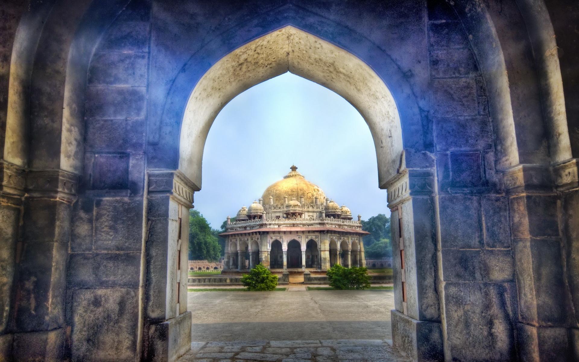 Temple Delhi India Full Hd Wallpaper And Background