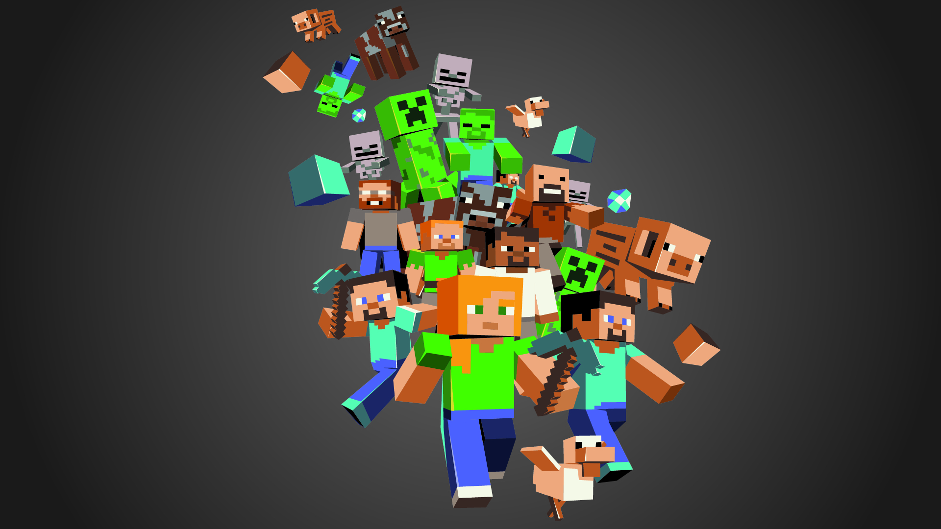 Minecraft Full Hd Wallpaper And Background Image