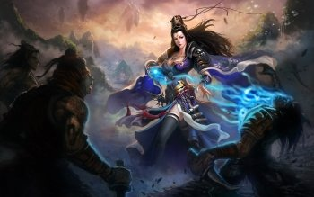Fantasy - Women Warrior Wallpapers and Backgrounds ID : 422075