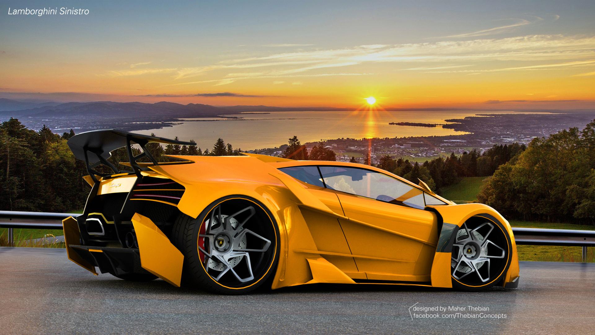2 Lamborghini Sinistro Fondos De Pantalla HD