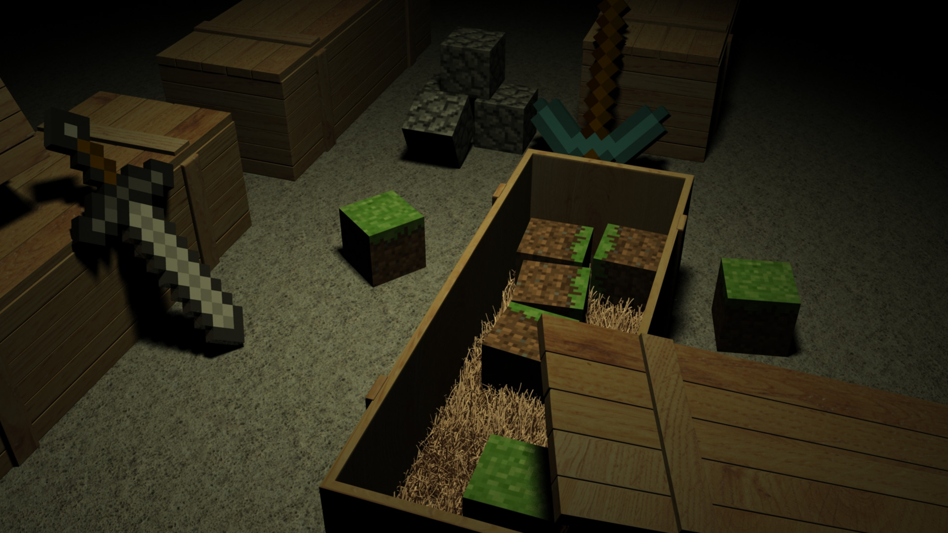 cool minecraft pictures for backgrounds images pictures