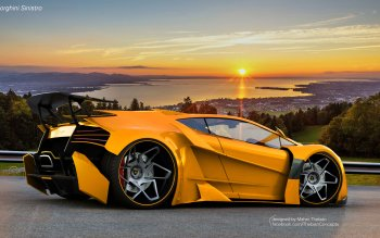 Vehicles - Lamborghini Sinistro Wallpapers and Backgrounds ID : 423484
