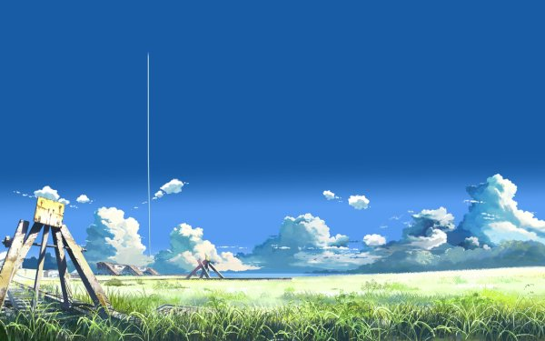 Anime The Place Promised In Our Early Days Landscape HD Wallpaper | Background Image