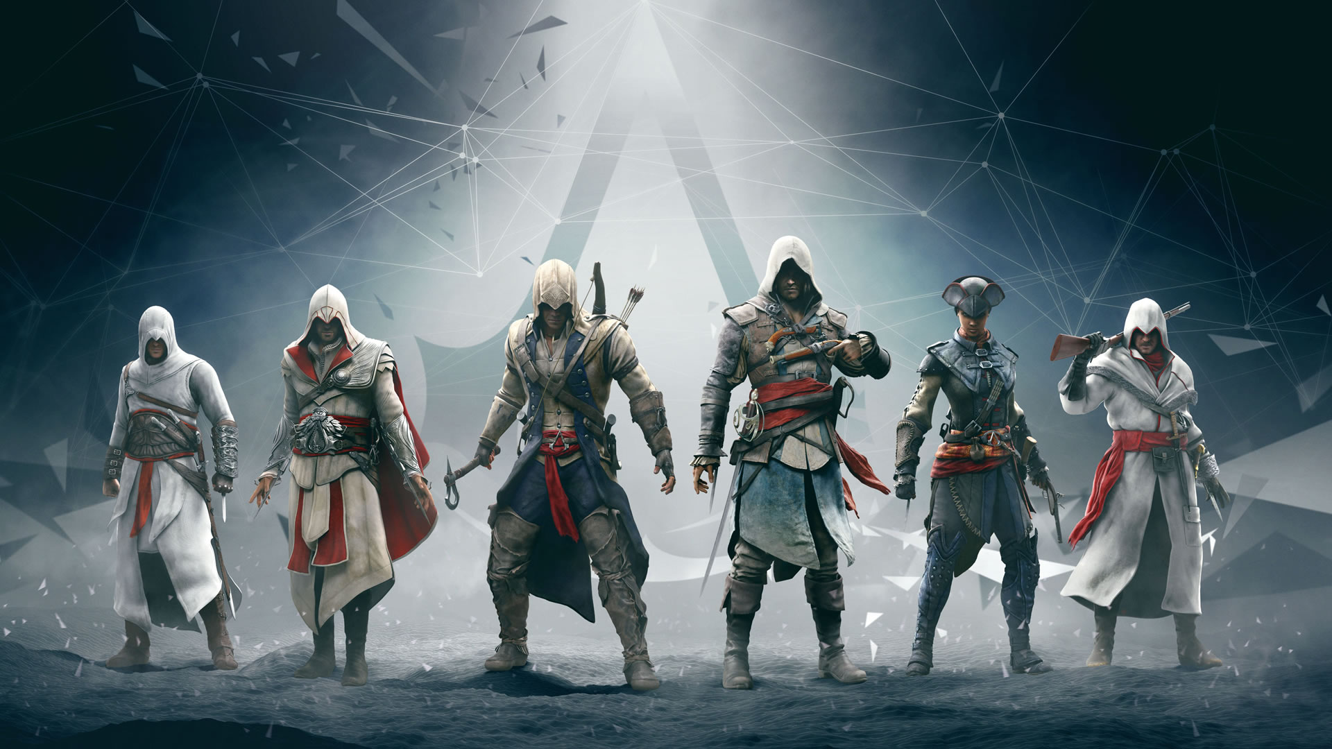 Assassins creed full hd wallpaper and background image 1920x1080 video game assassins creed altair assassins creed ezio assassins creed connor voltagebd Gallery