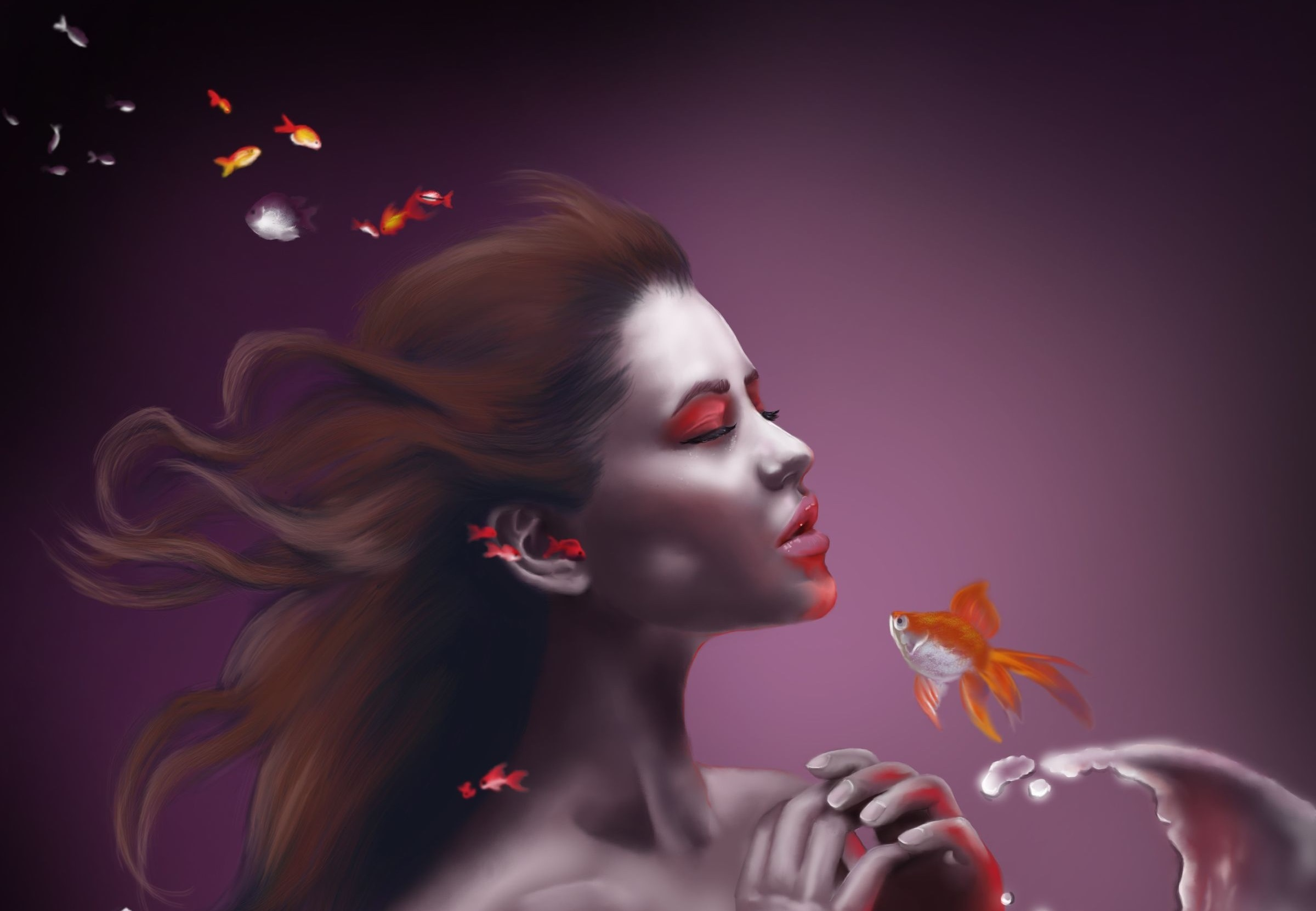 Fantasy - Mermaid  Wallpaper