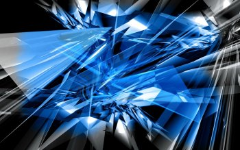 Abstract - Blue Wallpapers and Backgrounds
