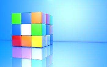 Spel - Rubik's Cube Wallpapers and Backgrounds ID : 426903