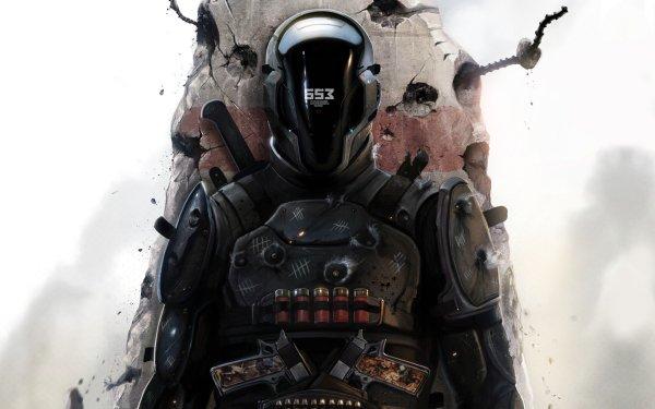 Sci Fi Warrior Last Man Standing HD Wallpaper | Background Image