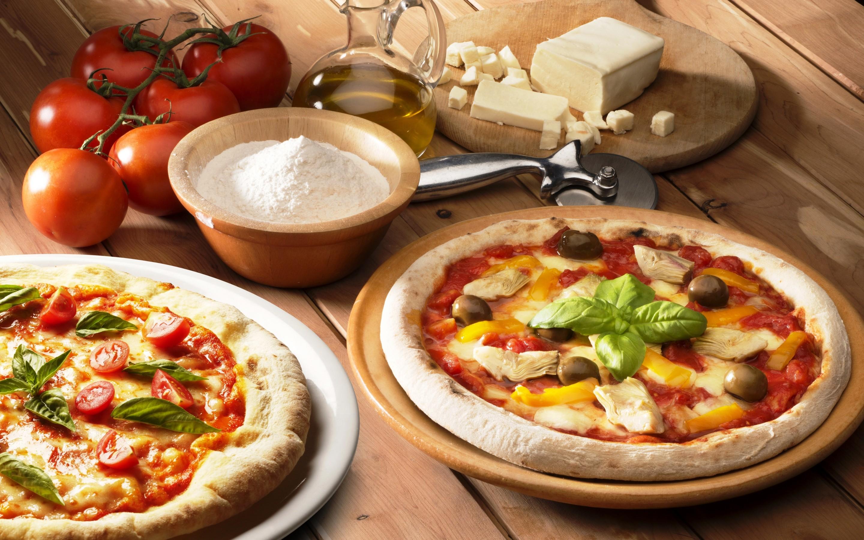 Pizza HD Wallpaper | Background Image | 2880x1800 | ID ...