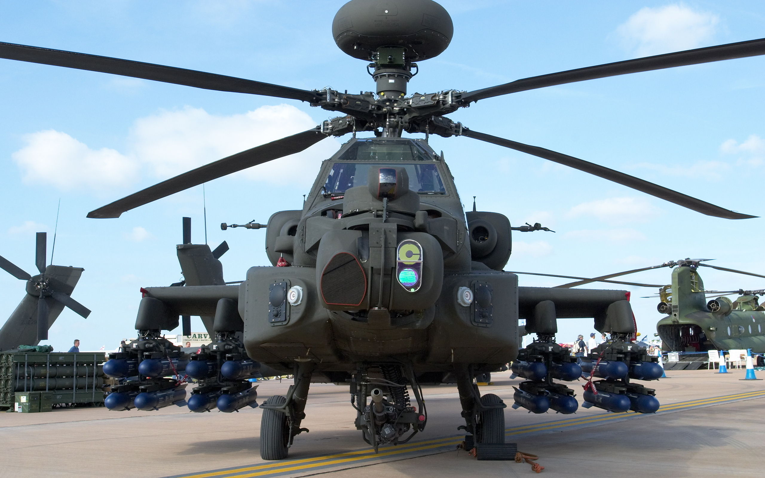boeing ah-64 apache full hd wallpaper and background | 2560x1600