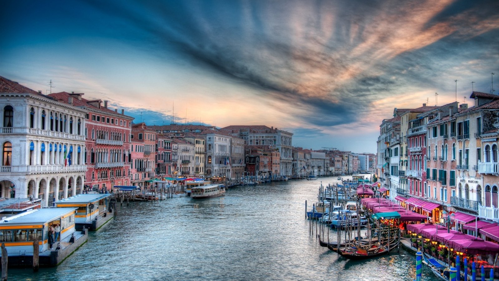 Man Made - Venice  Italy Building HDR Wallpaper