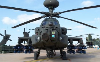 Military - Boeing Ah-64 Apache  Wallpapers and Backgrounds