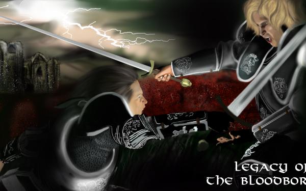 Fantasy Knight Duel Sword HD Wallpaper | Background Image