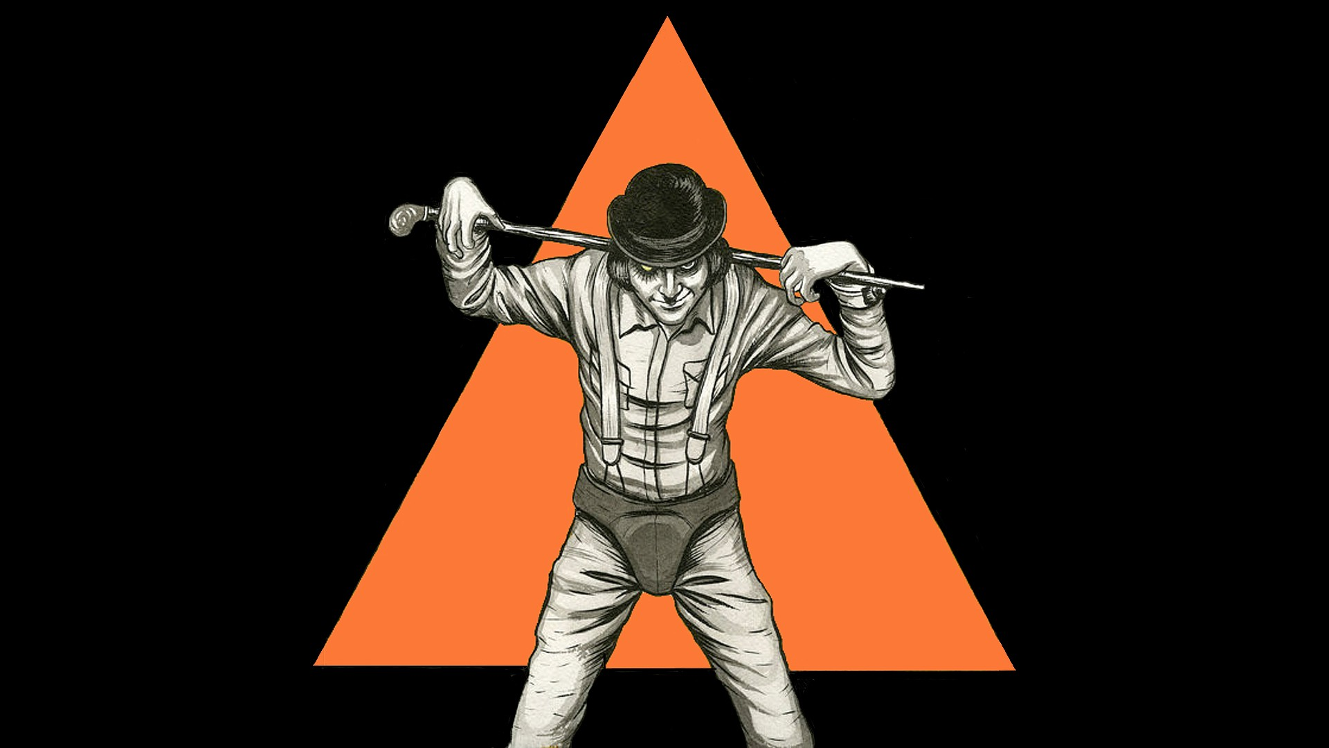 Alpha Coders Wallpaper Abyss Movie A Clockwork Orange 429687 A Clockwork Orange Wallpaper 1920x1080